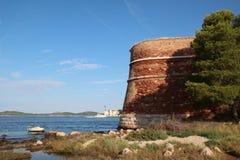 Sibenik St. Nicholas Fortress Stock Photography