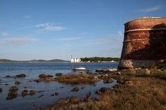 Sibenik St. Nicholas Fortress Royalty Free Stock Photography