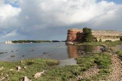Sibenik St. Nicholas Fortress Royalty Free Stock Photos