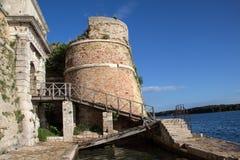 Sibenik St. Nicholas Fortress Royalty Free Stock Images