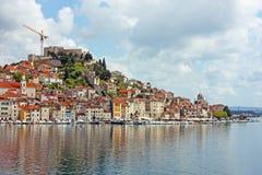 Sibenik, town on Adriatic sea Stock Photo