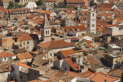 Sibenik town Royalty Free Stock Image