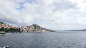 Sibenikstad op Dalmatische Kust, Kroatië Europa stock videobeelden