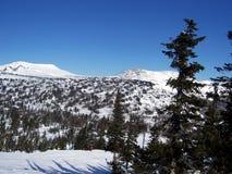 Siberië, de sterkte van de bergen Royalty-vrije Stock Foto