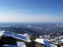 Siberië, de sterkte van de bergen Royalty-vrije Stock Afbeeldingen