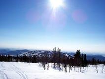 Siberië, de sterkte van de bergen Royalty-vrije Stock Afbeelding