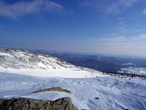 Siberië, de sterkte van de bergen Stock Fotografie