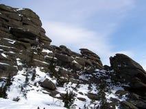 Siberië, de sterkte van de bergen Stock Foto