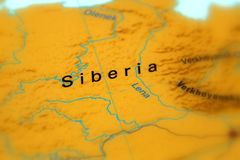 Siberië, Rusland royalty-vrije stock fotografie