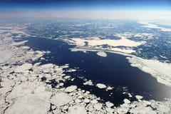 Siberia at 10km Stock Photo