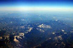 Siberia aerial Stock Image