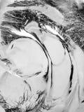 siberia för flod för isjanuari naturlig ob textur 2007 Arkivfoton