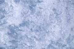 siberia för flod för isjanuari naturlig ob textur 2007 arkivbilder