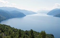 Siberia.View of the Teletskoye Lake Stock Image