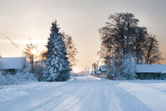 Siberia Royalty Free Stock Photo