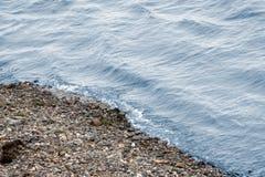 Siberian flod Arkivfoto