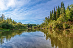 Siberian landscape Royalty Free Stock Image