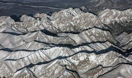 Siberian mountains Royalty Free Stock Image
