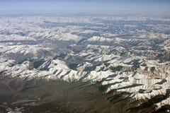 Siberian mountains Royalty Free Stock Photos