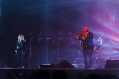 Siberian orkester för trans. i konsert Arkivfoto