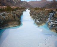 Siberian river Katun Stock Photography