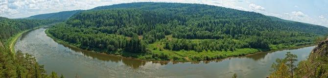 Siberian taiga Stock Image