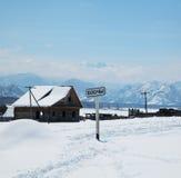Siberian Village Royalty Free Stock Photography