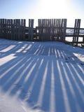 The Siberian village Stock Photo