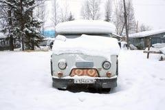 Siberische auto Stock Fotografie