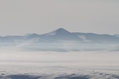 Siberische bergen Stock Fotografie