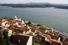 Sibernik croatia Royalty Free Stock Photo