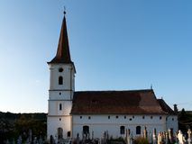 SIBIEL, TRANSYLVANIA/ROMANIA - 16 SEPTEMBER: Buitenmening van t stock afbeelding