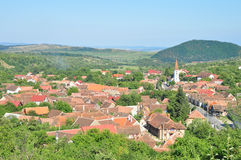 Sibiel village stock photos