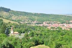 Sibiel village Royalty Free Stock Image