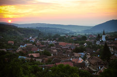 Sibiel village Royalty Free Stock Photos