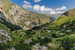 Sibillini góry krajobrazowy Włochy obraz stock