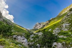 Sibillini mountains landscape Italy Royalty Free Stock Photography
