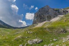 Sibillini mountains landscape Italy Stock Image