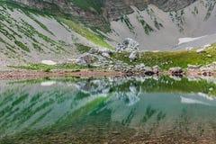 Sibillini mountains Pilato lake Italy Stock Photography