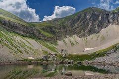 Sibillini mountains Pilato lake Italy Stock Images