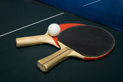 Sibilo - Pong ou tênis de tabela Fotografia de Stock
