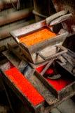 Sibirien Ryssland - rugga guld Arkivfoto