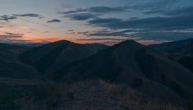 Sibirischer Morgen Stockbild