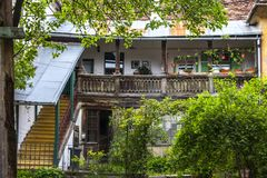 Sibiu - κατώφλι Στοκ Εικόνα