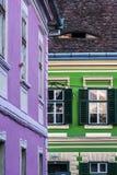 Sibiu - παλαιά πόλη στοκ φωτογραφία