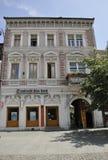 Sibiu, στις 16 Ιουνίου: Ιστορικό σπίτι από κεντρικός του Sibiu Ρουμανία Στοκ Εικόνες