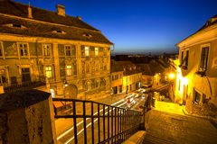 Sibiu, Τρανσυλβανία, Ρουμανία Στοκ φωτογραφία με δικαίωμα ελεύθερης χρήσης