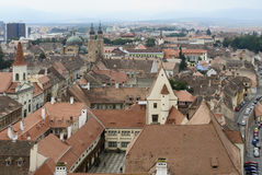 Sibiu в Румынии Стоковое фото RF