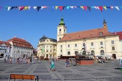 Sibiu Fotografering för Bildbyråer