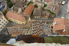Sibiu στη Ρουμανία Στοκ Εικόνες